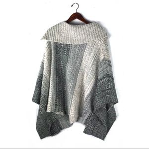 lovestitch Sweaters - Lovestitch Poncho cardigan knit pullover sweater
